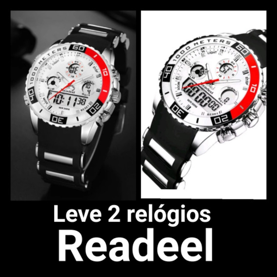 Relógio Readeel De Borracha Esportes Digital Quartz