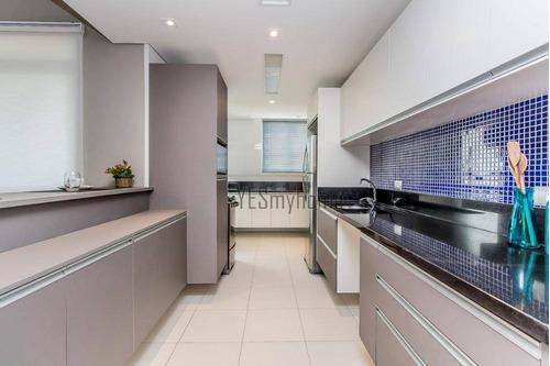 Apartamento Com 3 Dormitórios À Venda, 98 M² Por R$ 653.000,00 - Alto Da Glória - Curitiba/pr - Ap2292