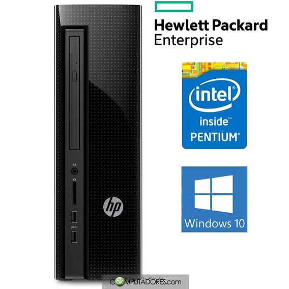 Computador Hp Intel Pentium Quad Core N3700, 4gb, Hd 500gb,