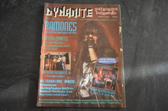 Dynamite 14 Ramones Revista