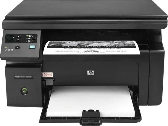 Impressora Multif. Hp Laserjet M1132 + 1 Toner De Brinde