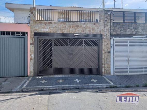 Sobrado Com 3 Dormitórios À Venda, 140 M² Por R$ 480.000,00 - Tatuapé - São Paulo/sp - So0450