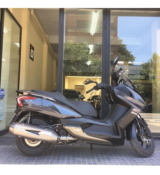 Kymco Downtown 300 Gris 2017 8200km Cassano Automobili