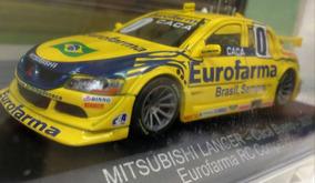 Col Stock Car 26- Mitsubishi Lancer - Cacá Bueno - Eurofarma