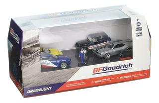 Greenlight 1 64 Dioramas Para Múltiples Autos Bfgoodrich Pe