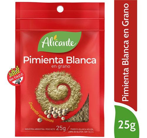 Alicante Pimienta Blanca En Grano X 25 Gr