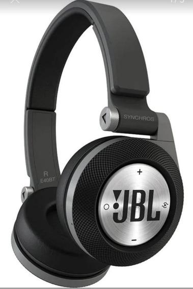 Fone De Ouvido Sem Fio Bluetooth Jbl E40bt Preto,demostração