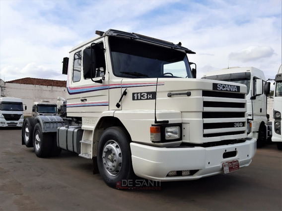 Scania 113h 360 6x2 Ano 97/98 8 Marchas