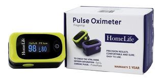 Pulsoximetro Homelife Adulto Pediatrico Amarillo