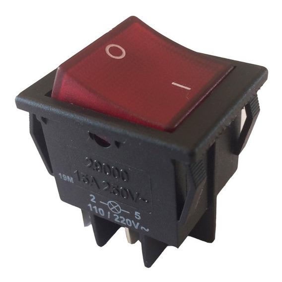 Interruptor Tecla Bipolar 15a 29223 Com Iluminação Margirus