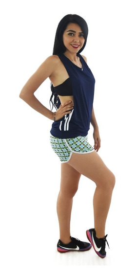 Short Deportivo Ropa Mujer Sport Correr Gym Goth08899