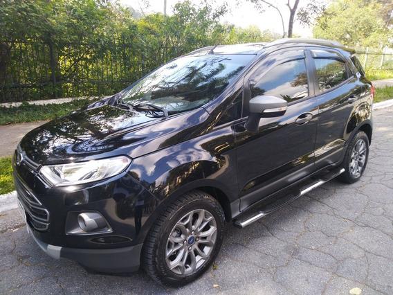 Ford Ecosport 1.6 16v Freestyle Flex 5p Bancos Em Couro