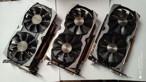 Placa De Video Zotac Geforce Gtx 1070 8gb Gddr5 Mini 256-bit