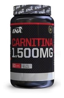 Carnitina 1500 Mg (120 Caps En Total) Ena Sport
