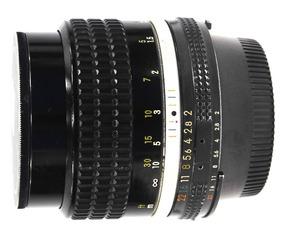Lente Nikon 85mm F/2 Série Ai-s Nikkor
