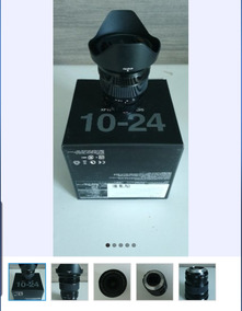 Lente Fujifilm 10x24mm F4.