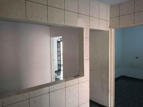 Imagem 1 de 8 de Casa Para Locação Em São Paulo, Santo Eduardo, 2 Dormitórios, 1 Banheiro, 1 Vaga - Cs425_1-1951689
