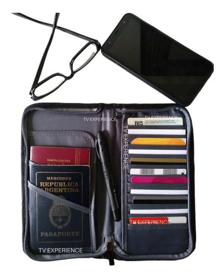Portapasaporte Portadocumentos Auto-viaje-tarjetas-documento