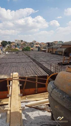 Cobertura Com 2 Dormitórios À Venda, 100 M² Por R$ 330.000,00 - Jardim Santo Alberto - Santo André/sp - Co0541