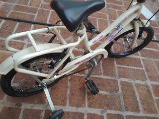 Bicicleta Para Niñ@ De Hasta 5 Años Rodado 14