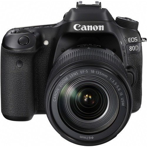 Câmera Canon Eos 80d Ef-s Com Lente 18-135mm Is Usm + Nfe