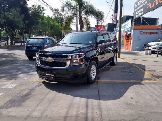 Chevrolet Suburban Lt 2017 Negra