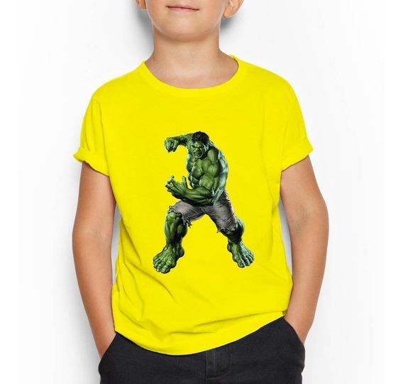 Poleras Estampadas Personalizadas Hulk Avengers