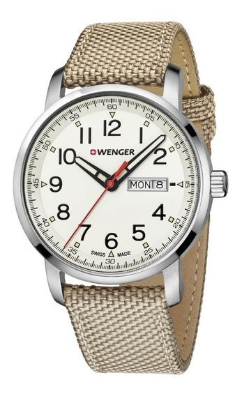 Relógio Wenger Attitude Heritage Bege 01.1541.112