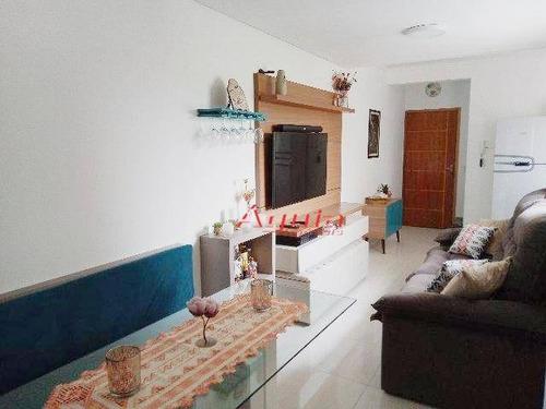 Cobertura Com 2 Dormitórios À Venda, 52 M² Por R$ 403.000,00 - Jardim Santo Alberto - Santo André/sp - Co0763