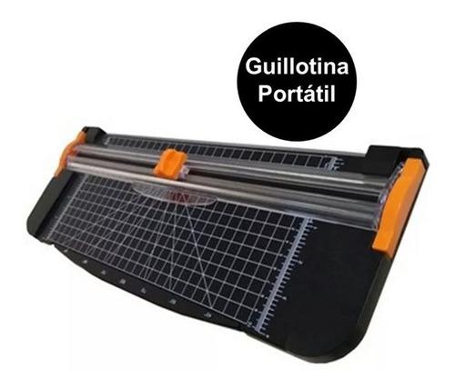 Guillotina Portatil Cortadora Papel Carta A4 Moderna C/regla