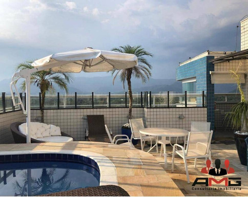 Cobertura Com 3 Dormitórios À Venda, 186 M² Por R$ 1.990.000,00 - Riviera - Módulo 6 - Bertioga/sp - Co0295