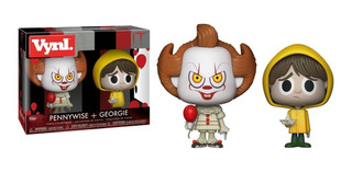Funko Pop It Pennywise + Georgie Figura Nuevo