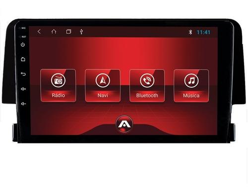Kit Multimidia Civic 17 18 19 G10 Atom 10p Wifi Waze Tv