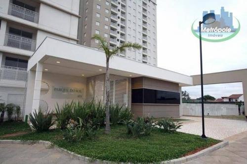 Apartamento À Venda, 67 M² Por R$ 340.000,00 - Ponte Grande - Guarulhos/sp - Ap1213