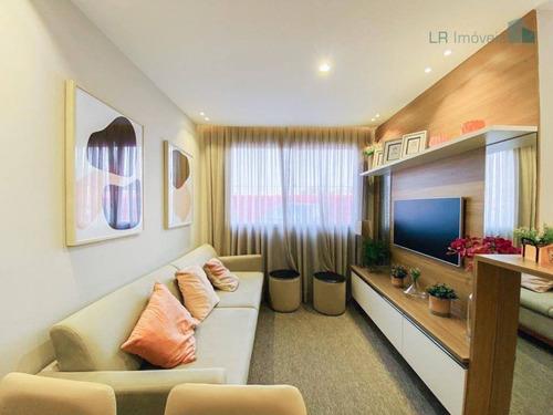 Apartamento Com 2 Dormitórios À Venda, 39 M² Por R$ 155.000,00 - Santana - Pindamonhangaba/sp - Ap15656