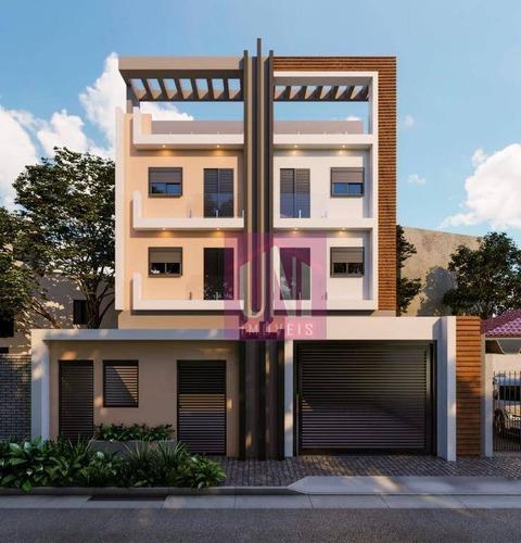 Imagem 1 de 1 de Apartamento Com 2 Dormitórios À Venda, 47 M² Por R$ 309.000,00 - Jardim Vila Rica - Santo André/sp - Ap2126