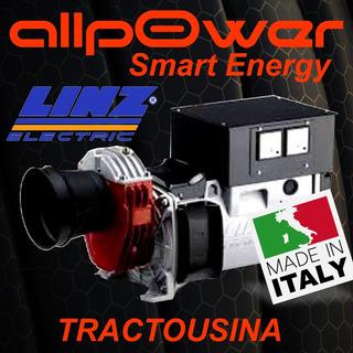 Tractousina Generador Electrico Linz 18kva Monofasico Italy