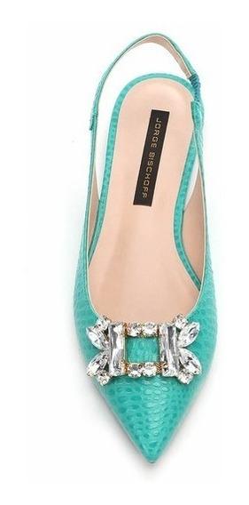 Sapatilha Chanel Pedraria - Jorge Bischoff