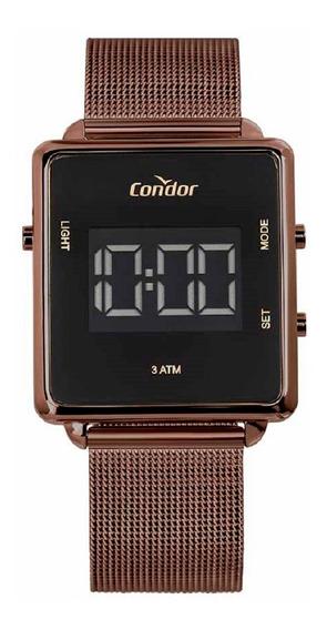 Relógio Condor Unissex Digital Cobjf156ad/4m Marrom Lançamen