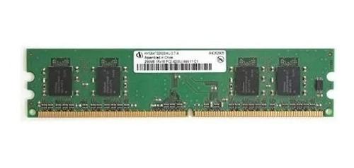 Memoria Ddr2 256mb 400mhz Pc2-3200