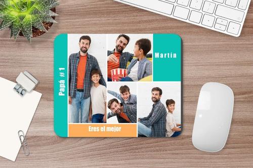 Imagen 1 de 7 de Mousepad Personalizado Para Dia Del Padre Con Fotos