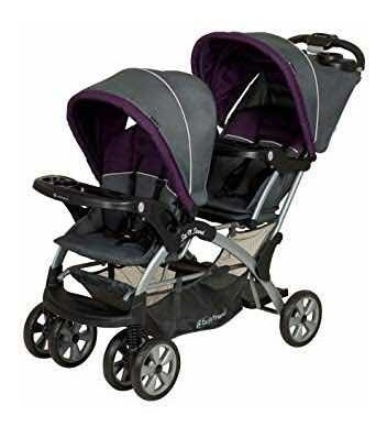Carrito Doble Baby Trend Sit And Stand