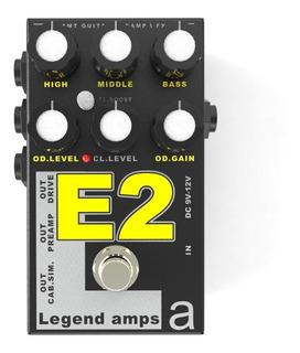 Pedal Legend Amps Amt E2 Engl Emulates 2 Para Guitarra