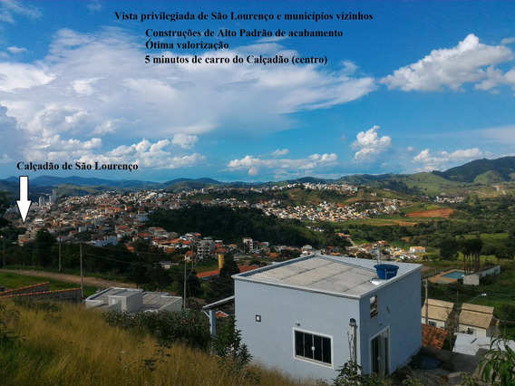 Terreno/lote À Venda - 360 M² - São Lourenço/mg