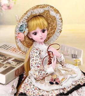 Ucanaan Bjd Doll, 1/3 Sd Dolls 23.6 Pulgadas 19 Muñecas Arti