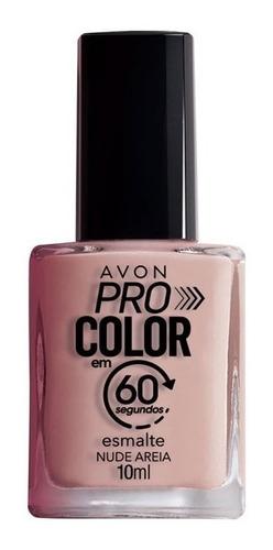 Imagem 1 de 1 de Avon - Pro Color 60 Segundos - Esmalte - Nude Areia