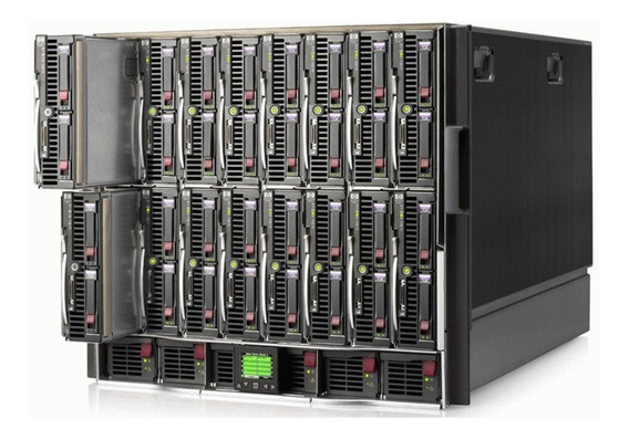 Blade Hp C7000 16 Laminas 2x Xeon X5670 2x Hd Sas 300gb 24gb