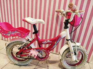 Bicicleta Raleigh Rodado 12 Nena Usada Como Nueva