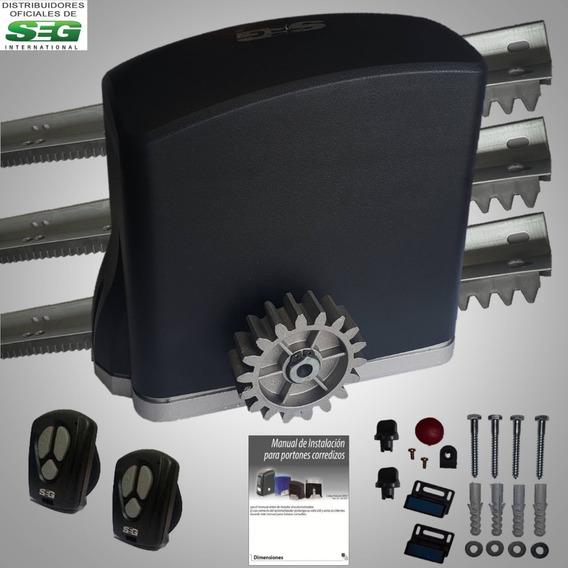 Motor Porton Corredizo Seg Automatico 500kg 1/4hp Electrico