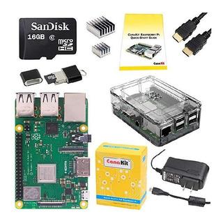 Kit Full Raspberry Pi3 B+ (inc. Cargador, Case, Sd, Hdmi)